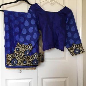 Saree w/ blouse (size 42)